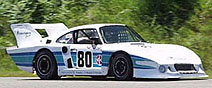 Porsches at Lime Rock Park
